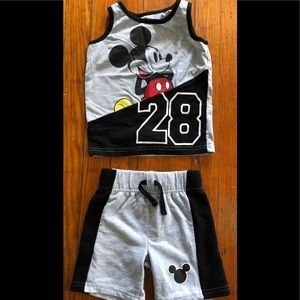 Mickey Mouse Toddler Set Size 3T